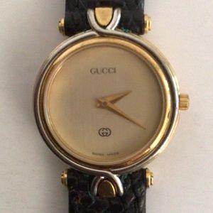 Gucci 18K Gold Plated Ladies' Quartz Watch 4500 L